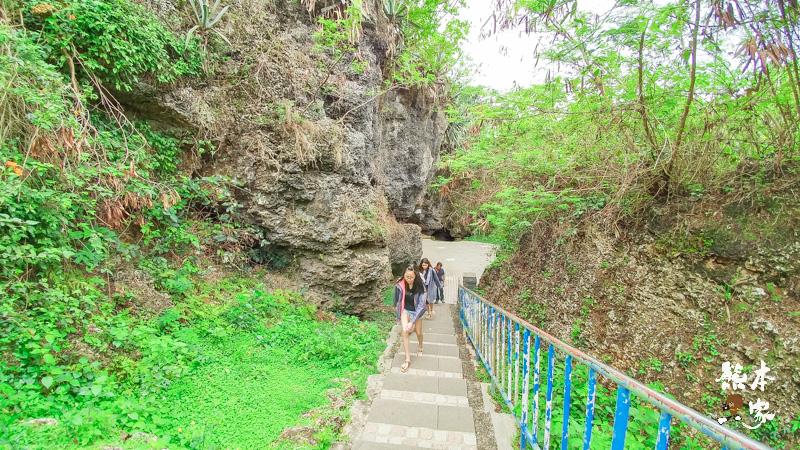 小琉球美人洞第2遊覽區|海上樂園、麗池、怡然園、一線天、迷人陣