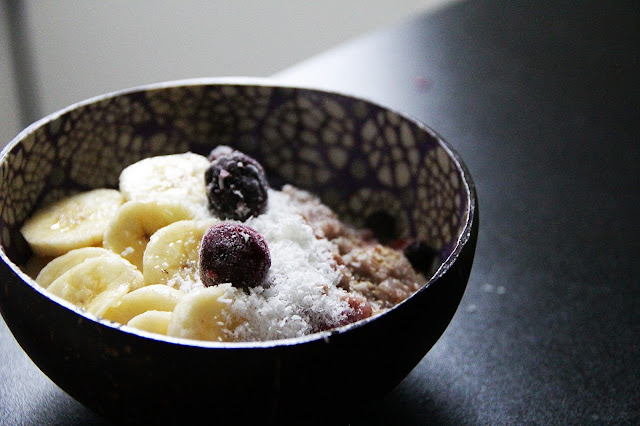 porridge-fruit-vegan-banane-coco