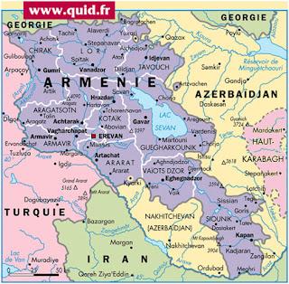 Armenia mira hacia el este