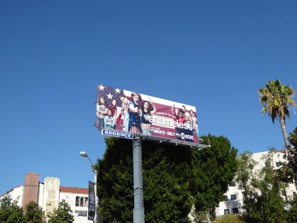 Shameless season 7 billboard
