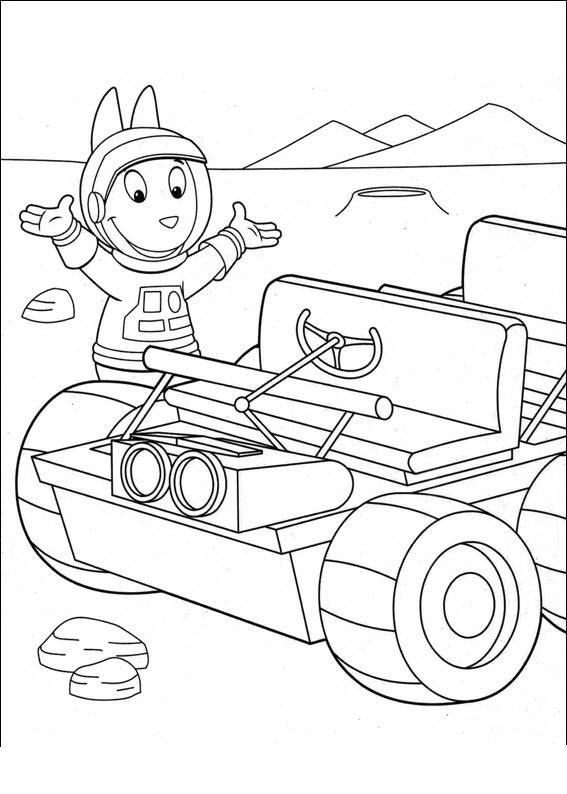 Desenhos Do Pablo Backyardigans Para Colorir