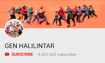 YouTuber Indonesia - Gen Halilintar