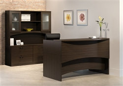 Brighton Reception Desk by Mayline
