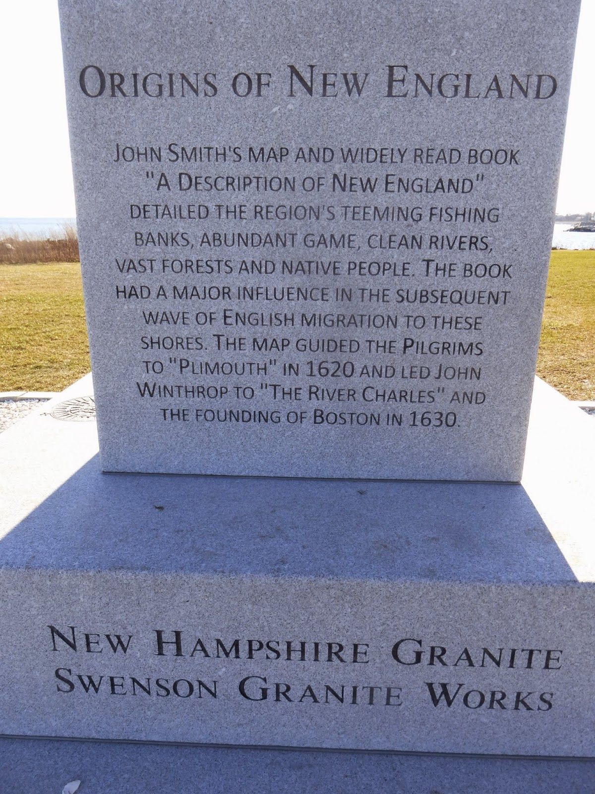 Nutfield Genealogy: 400th Anniversary of John Smith's
