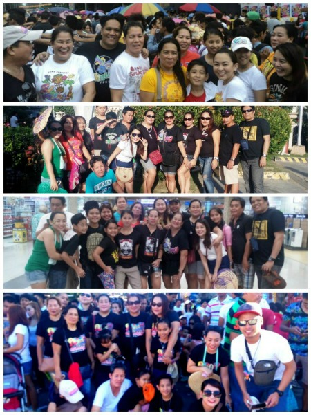 With family during Sinulog Festival