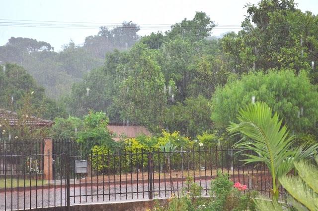 Chuva chega em bom momento