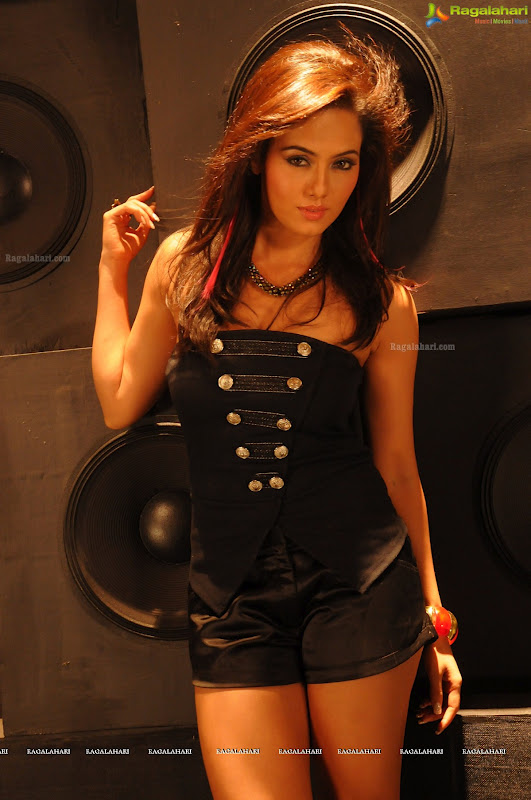 Exotic actress SANA KHAN
