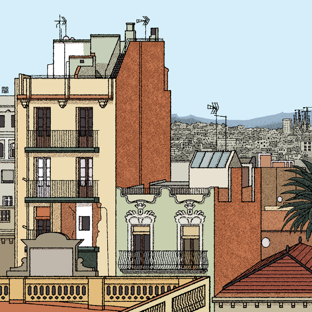 ilustracion dibujo marcos moran illustration drawing barcelona