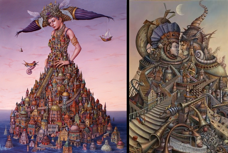 05-Architects-and-Architectural-Tomek-Sętowski-Oil-Paintings-Magical-Realism-meets-Surrealism-www-designstack-co