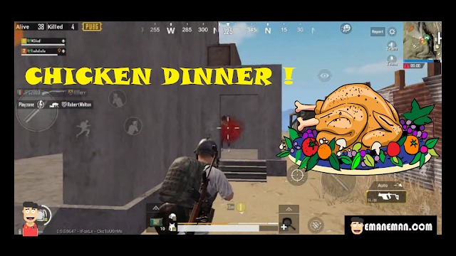PUBG MOBILE EP. 11 Eman Main di Miramar Chicken Dinner 2
