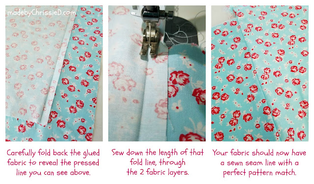 7 Steps To Pattern Match Fabric Seams by Chris Dodsley @made by ChrissieD