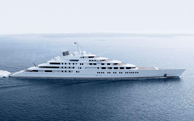 Дорогие яхты мира Azzam