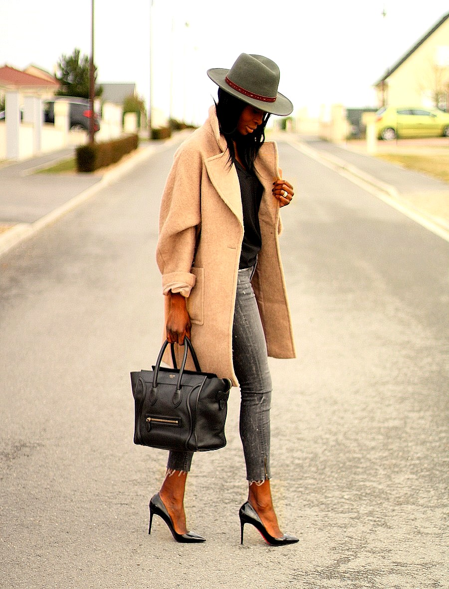 ootd-casual-chic-camel-coat-celine-mini-luggage-louboutin-pigalle