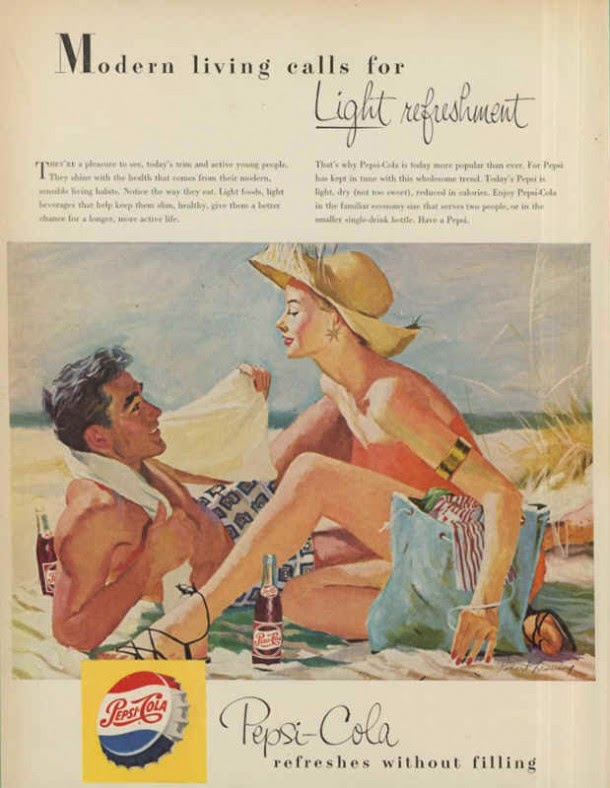 Vintage Pepsi Ads From The 1950s Vintage Everyday