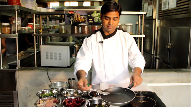 'Junior Chef', a culinary workshop on Indian food by Zzungry's Executive Chef Rajeev Bhadani