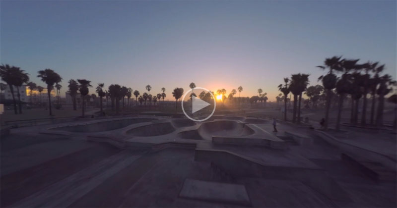 This Early Morning Drone Tour Of Venice Beach Will Make You Want To Live There.