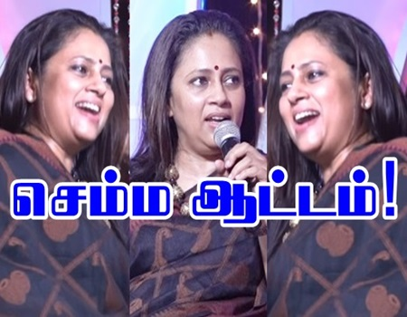Lakshmi Ramakrishnan Semma Dances | Naughty Nights Show