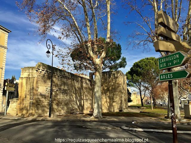 Avignon, cidade murada