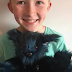 This 12 year old boy learnt how to sew in order to make teddy bear for kids in the hospital