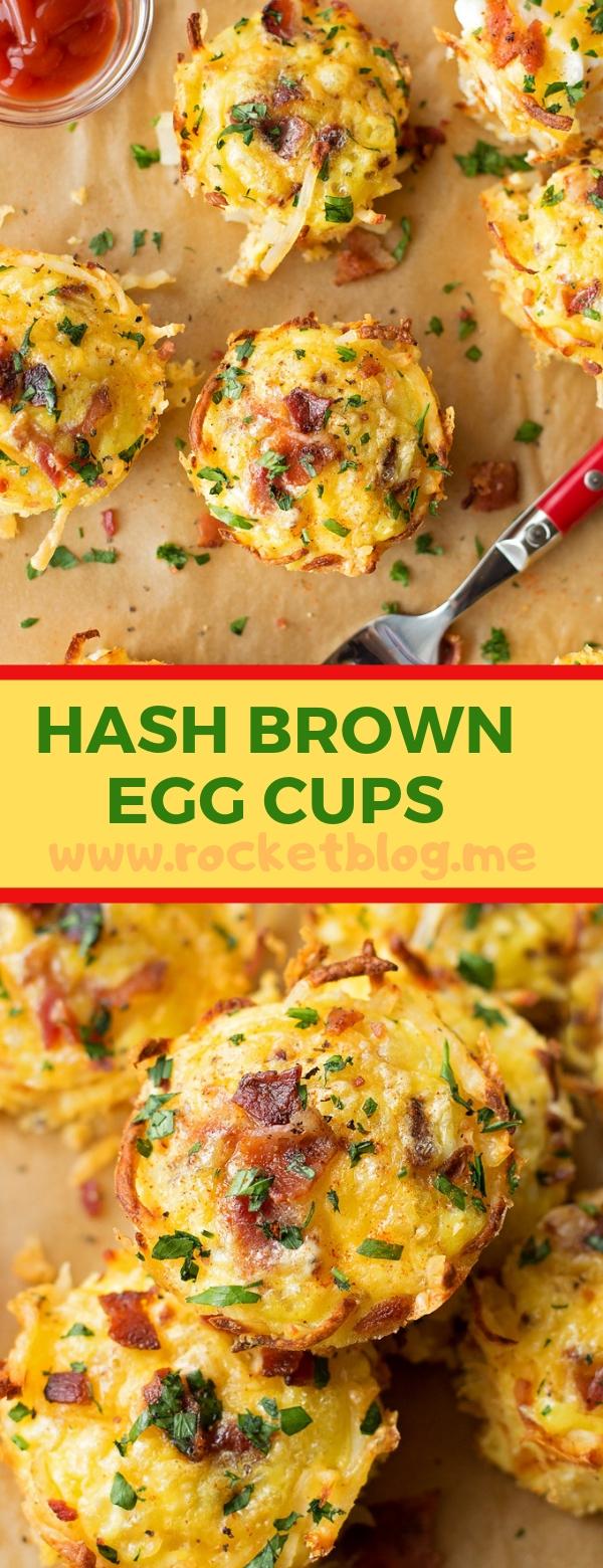 HASH BROWN EGG CUPS #EASYRECIPES