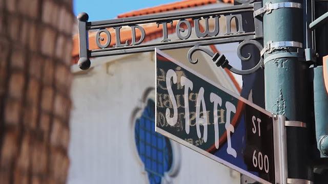 Rua State Street para se hospedar em Santa Bárbara