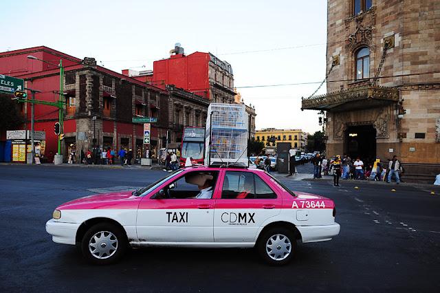 javni prevoz v MExico City