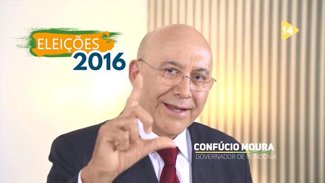 """""""Porto Velho tem jeito, é Léo Prefeito"""" Declara Governador Confúcio Moura em Programa"""