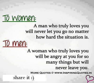 women life quotes by man with picture: a man who truly loves you will never let you go ni matter