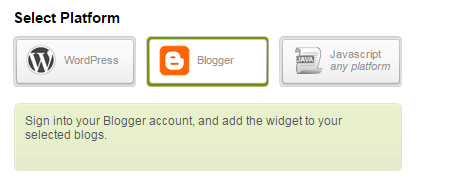 How to use Engageya recommended content widget in blogger?