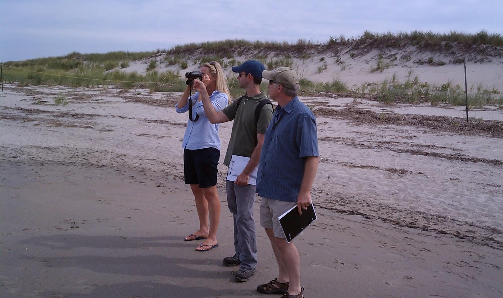 Coastal Ecologist Brian Degasperis And Ecology Program Director Russ Hopping Gave Me A Bird S Eye Tour Of Crane Beach