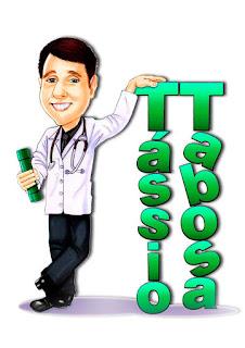 caricatura de formando médico