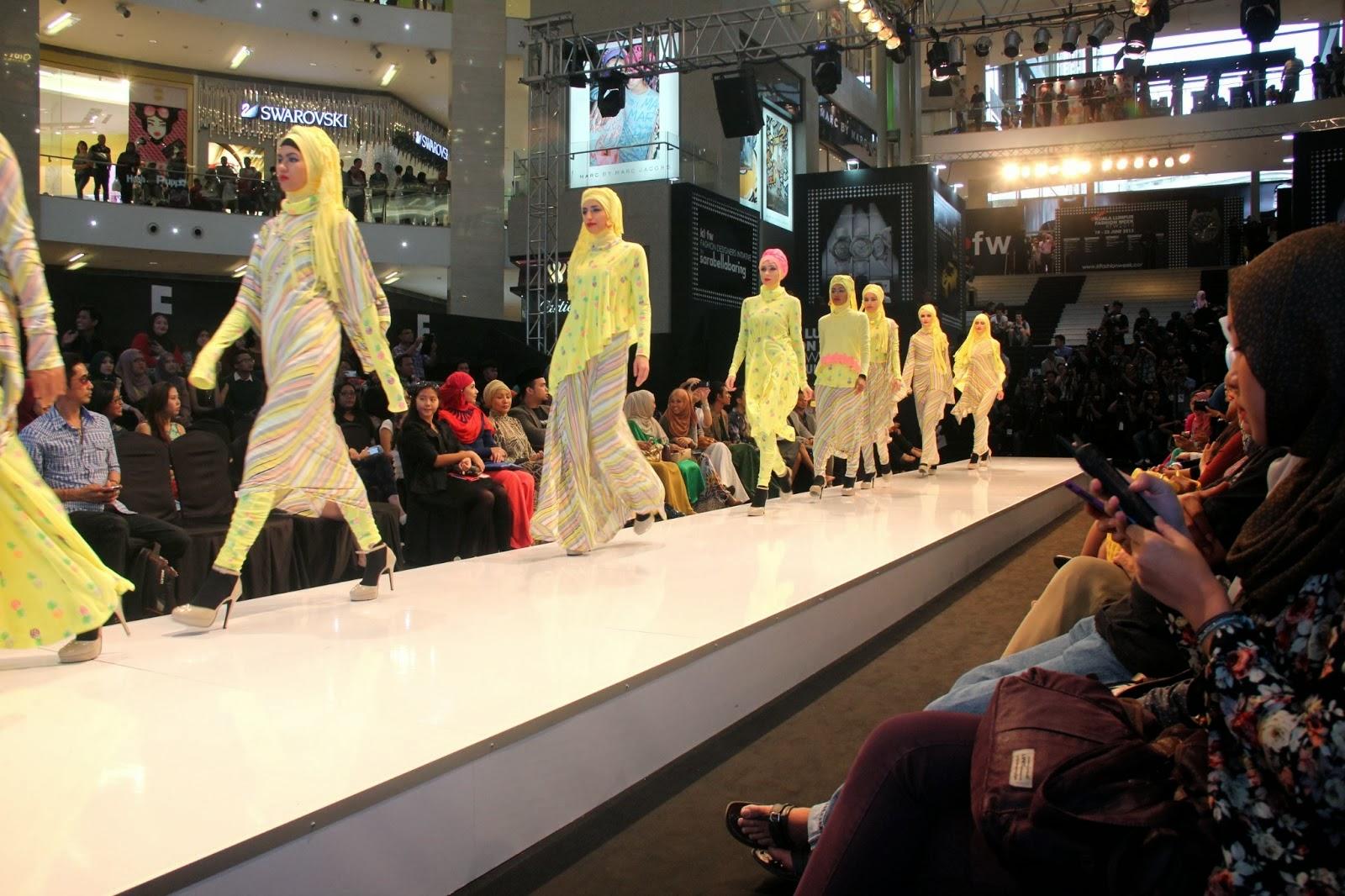 KLIHF 2014 Fesyen Perniagaan Hijab Tudung Pameran Antarabangsa
