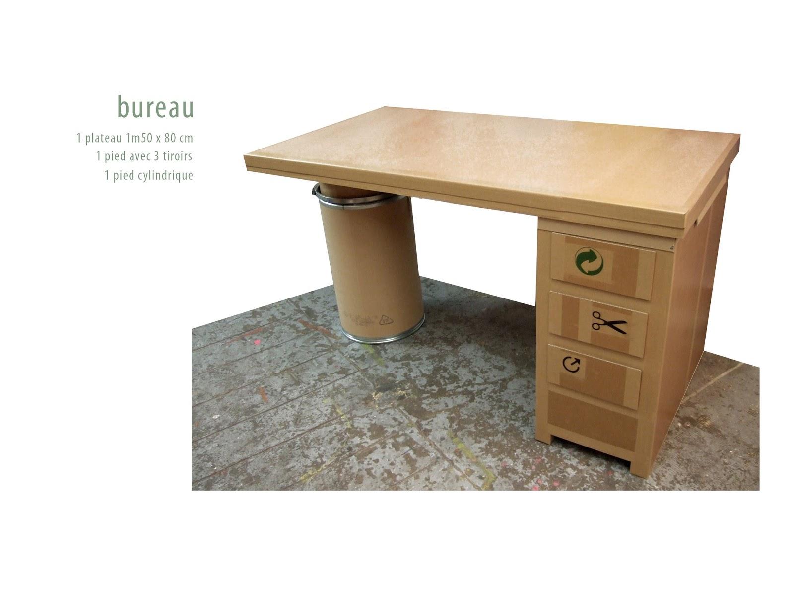 juliadesign meuble en carton bureaux. Black Bedroom Furniture Sets. Home Design Ideas