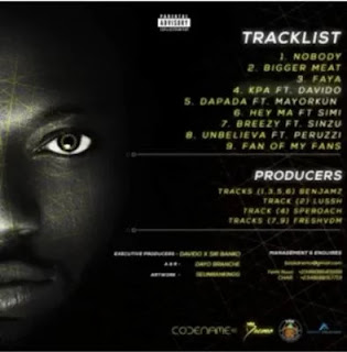 CODENAME EP track list
