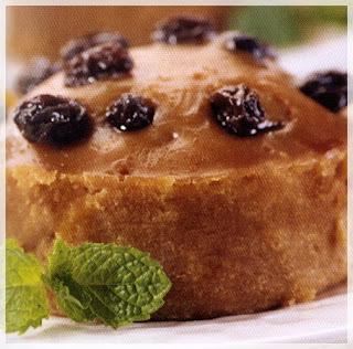 Cara membuat cake kismis karamel