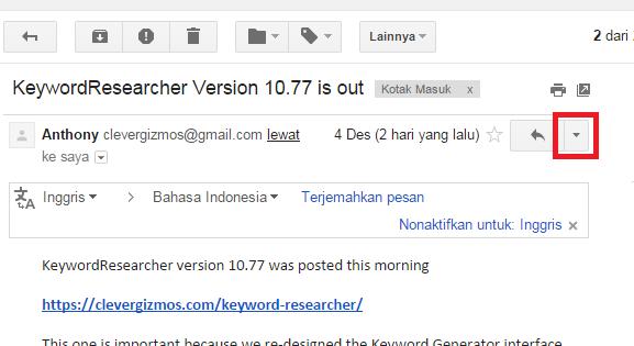 cara mudah block akun gmail