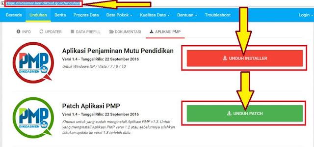 gambar Download Installer Aplikasi Penjaminan Mutu Pendidikan (PMP) Versi 1.4