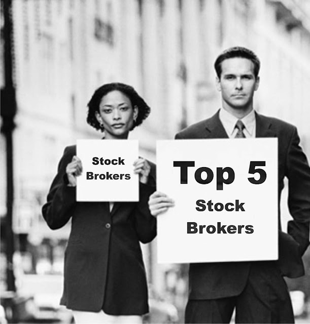 Top 5 Stock Brokers