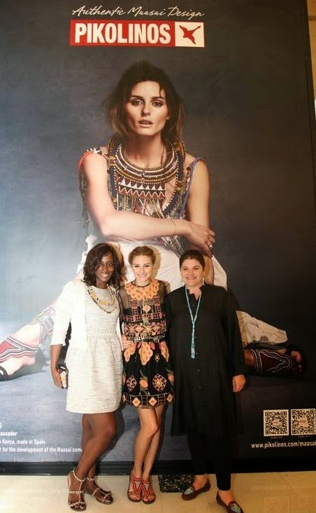Olivia Palermo in Shanghai For The Maasai Project