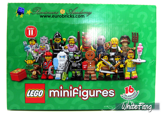 My Favourite: Lego Minifigure Series 11 Review