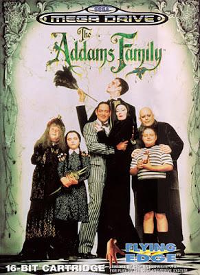 Rom de The Addams Family - Mega Drive - PT-BR
