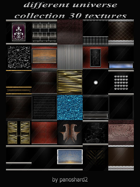 TEXTURES IMVU FOR SALE: Different universe collection 30