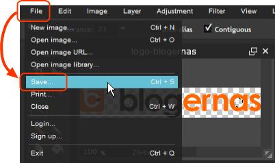Membuat Background Transparant di Situs Pixlr