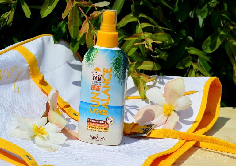 Farmona Sun Balance - Ekspresowy przyspieszacz opalania Gold Tan