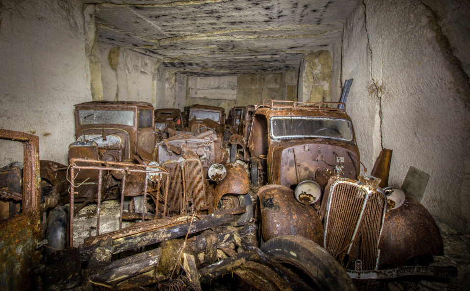 Belgian Man Discovered Stash of Cars Hidden in Abandoned Quarry ...