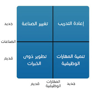 قياس حجم المخاطرة لقراراتك المهنية بمصفوفة Ansoff - الشكل 1