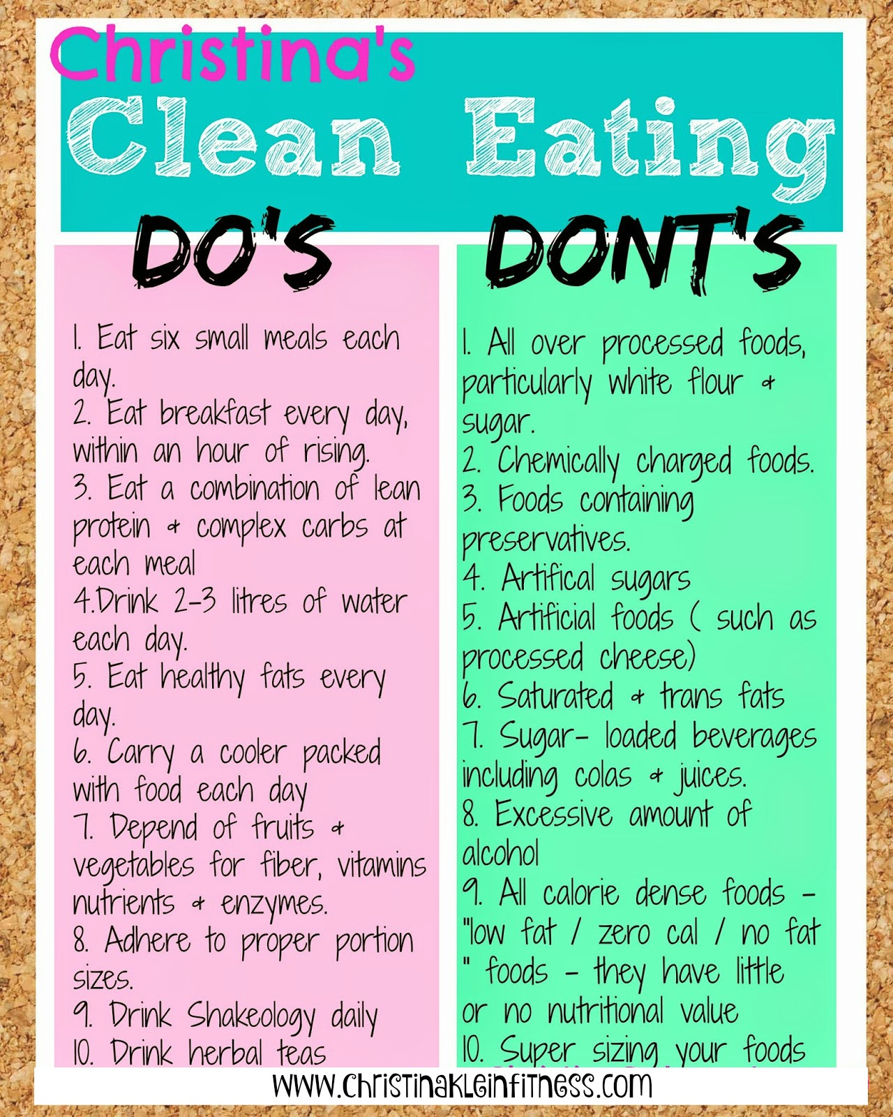 It's just a picture of Adorable Clean Eating Food List Printable