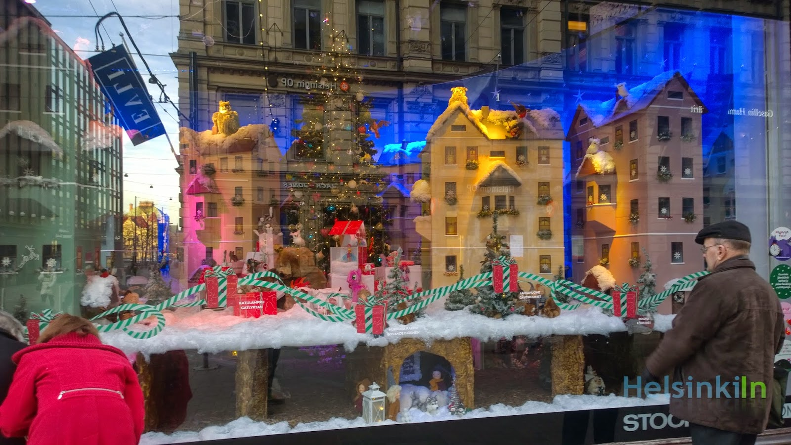 Stockmann's Christmas windows