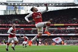 Cuplikan Gol Arsenal vs Swansea 2-1