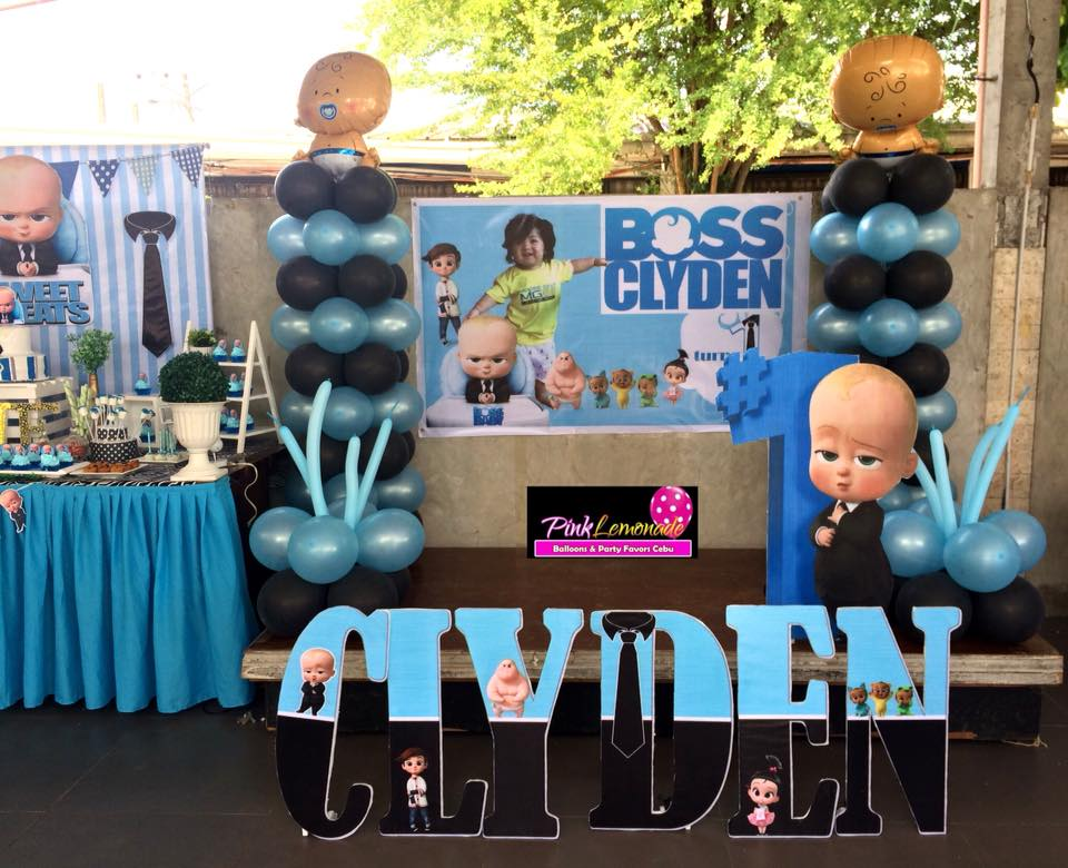 Pink Lemonade Balloons and Party Favors Cebu: Boss Baby ...